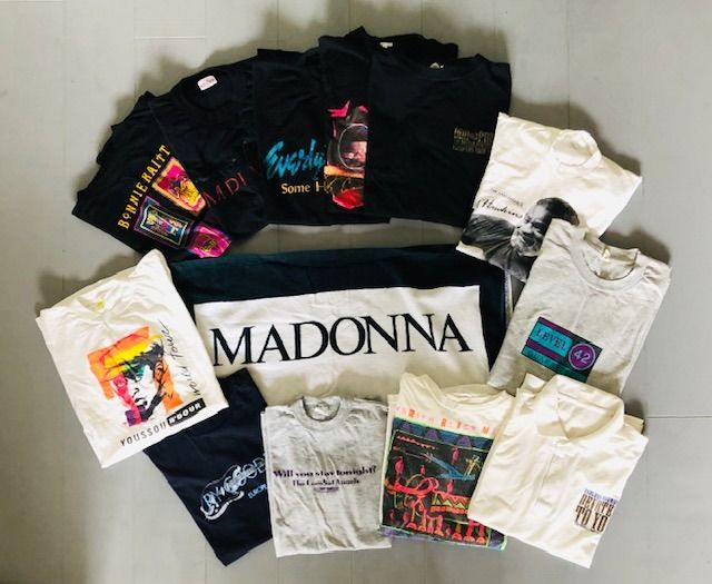 Madonna, Youssou 'N Dour, The Everly Brothers - Multiple artists - Various media - 1980/1987