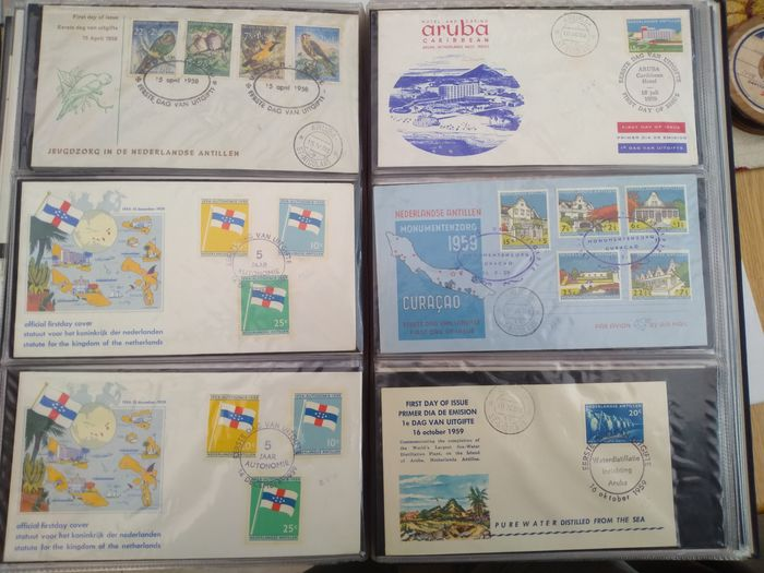 Lot 49137647 - Dutch Stamps  -  Catawiki B.V. Weekly auction - Note the closing date of each lot