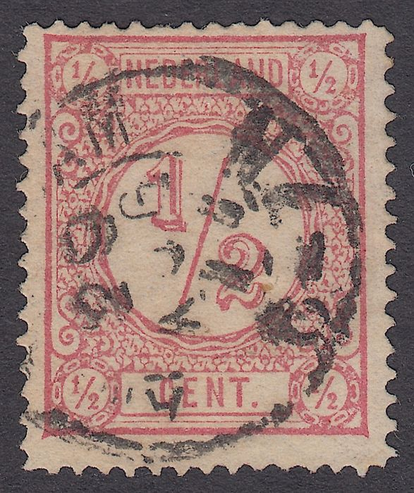 Pays-Bas 1877 - Printed matter stamp with line perforation 14 - NVPH 30AI
