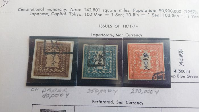 Japan 1870/2010 - Extensive collection