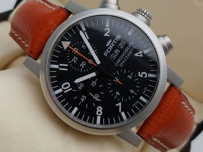 Fortis - Chronograph Spacematic - 625.22.141.1 - Uomo - 2000-2010
