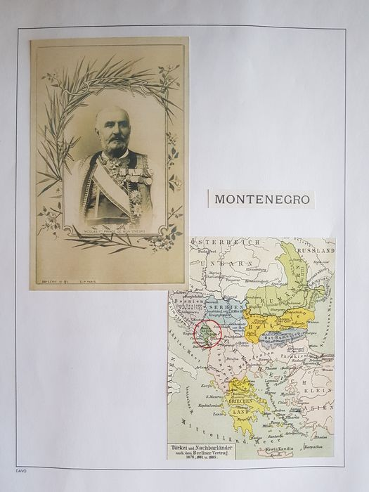 Montenegro 1874/1918 - Complete and Collection