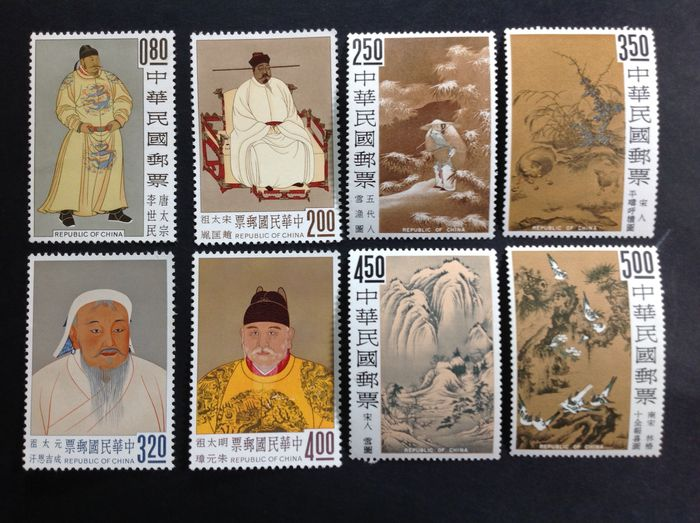 Asien 1960/1969 - Big lot of sets from 1960/1969 mint and intact - Yvert