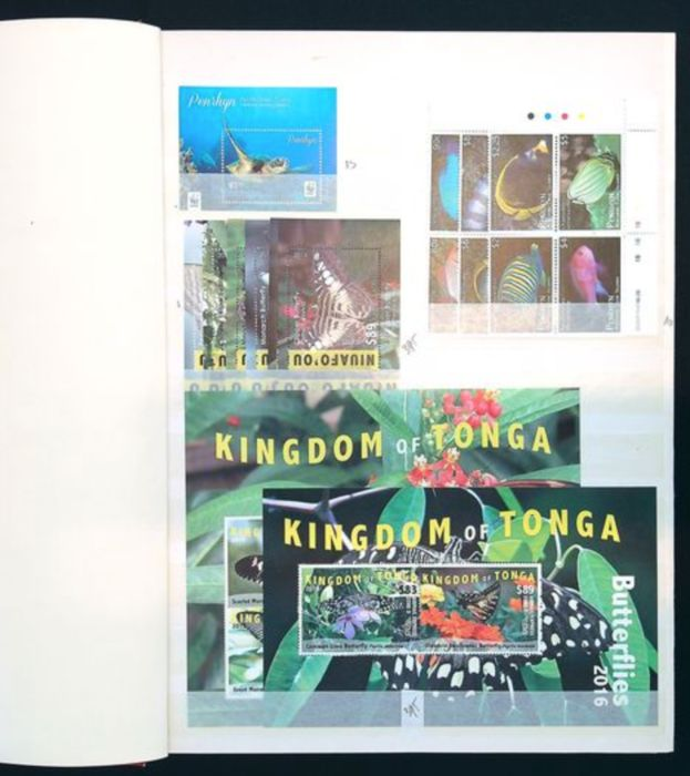 Monde 1988/2016 - Collection Fauna and Animals with Niuafo'ou, Tonga, Penrhyn Islands
