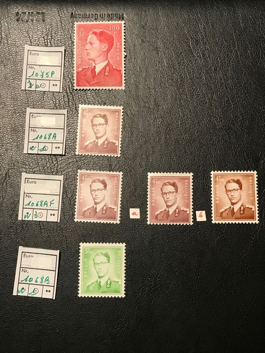 Lot 49185397 - Belgian Stamps  -  Catawiki B.V. Weekly auction - Note the closing date of each lot