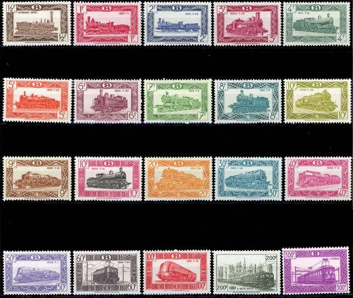 Lot 49207731 - Belgian Stamps  -  Catawiki B.V. Weekly auction - Note the closing date of each lot