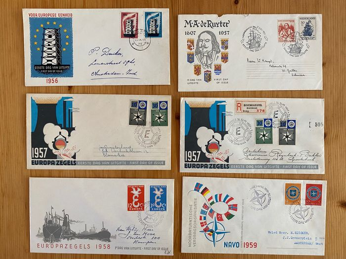 Lot 49203317 - Dutch Stamps  -  Catawiki B.V. Weekly auction - Note the closing date of each lot