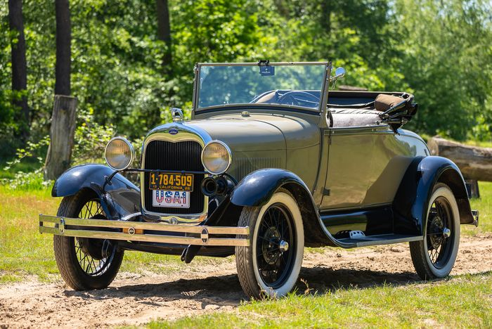 Ford USA - Model A Roadster De Luxe - 1928
