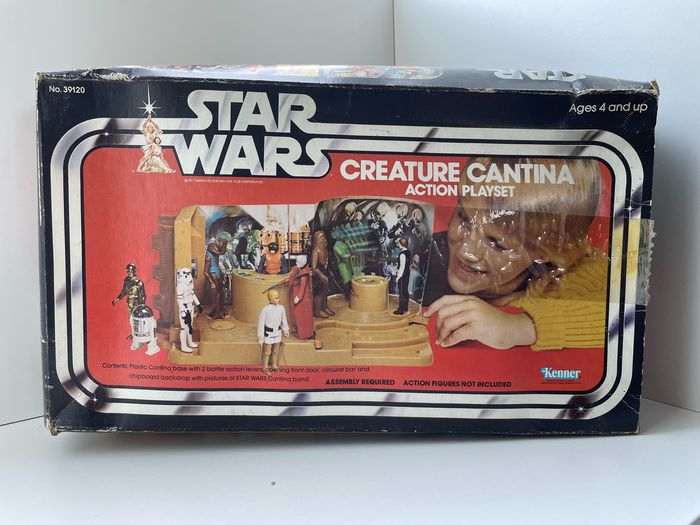 Star Wars Episode IV: A New Hope - Kenner - Creature Cantina Action Playset - In original Box - unused Vintage - 1978 - see images and description