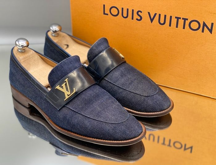 Louis Vuitton - penny loafers jeans - Mocassins - Taille: Chaussures / UE 41