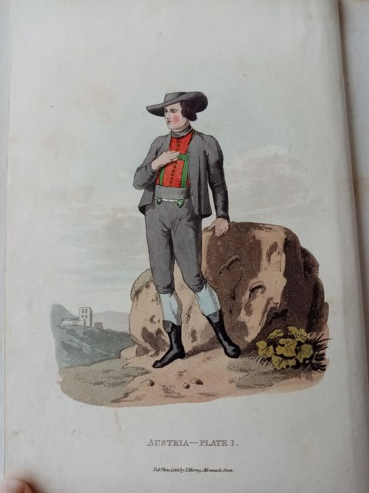 Alexander William - Picturesque representations of the dress and manners of the Austrians - 1814