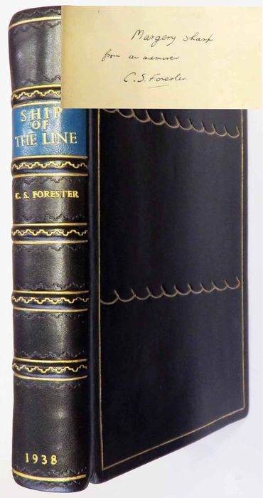 Signed; C. S. Forrester - Ship of the Line - 1938