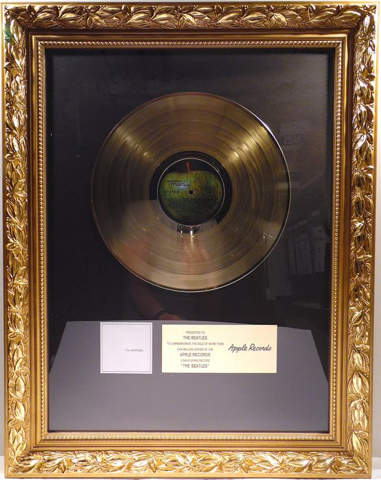 Beatles - The Beatles - Official In-House award - 2019