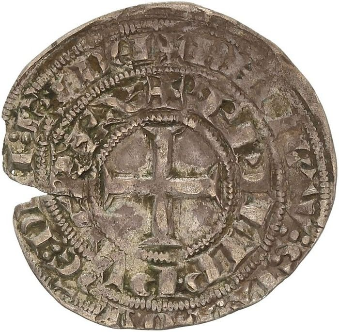 France. Philippe IV (1285-1314). Maille blanche