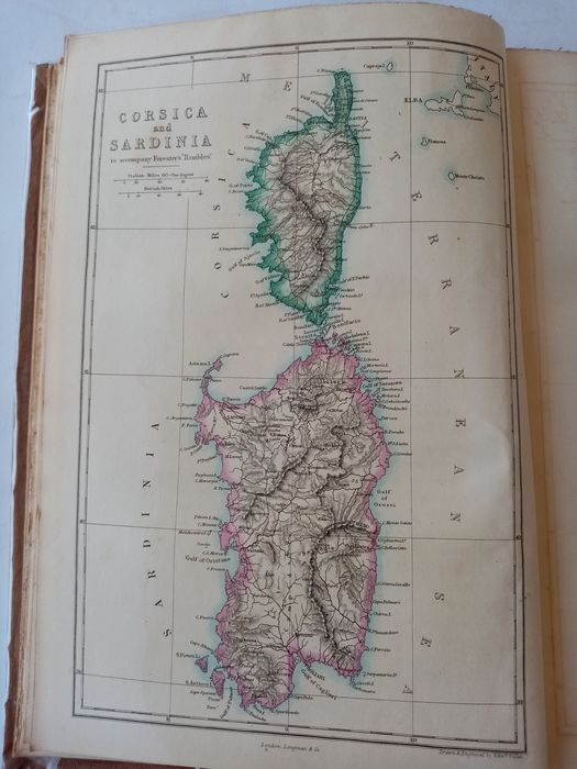 Thomas Forester - Rambles in the islands of Corsica and Sardinia : with notices of their history, antiquities, and pre - 1858