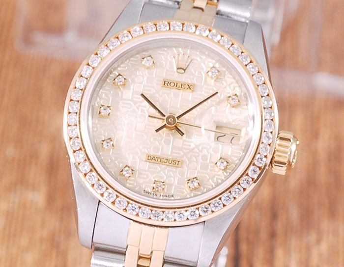 Rolex - Oyster Perpetual Datejust - 69173 - Donna - 1990-1999