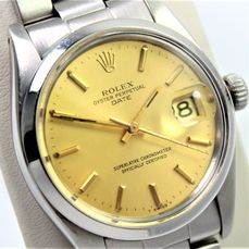 """Rolex - Oyster Perpetual Date - 1500 """"NO RESERVE PRICE"""" - Homme - 1970-1979"""