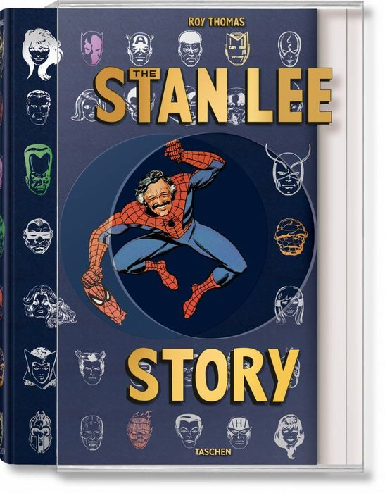 Signed; Stan Lee, Roy Thomas - The Stan Lee Story - 2019