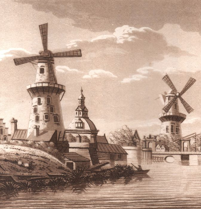 Samuel Ireland and Cornelis Apostool - A Picturesque Tour Through Holland, Brabant and France. Rare Illustrated Book - 1796
