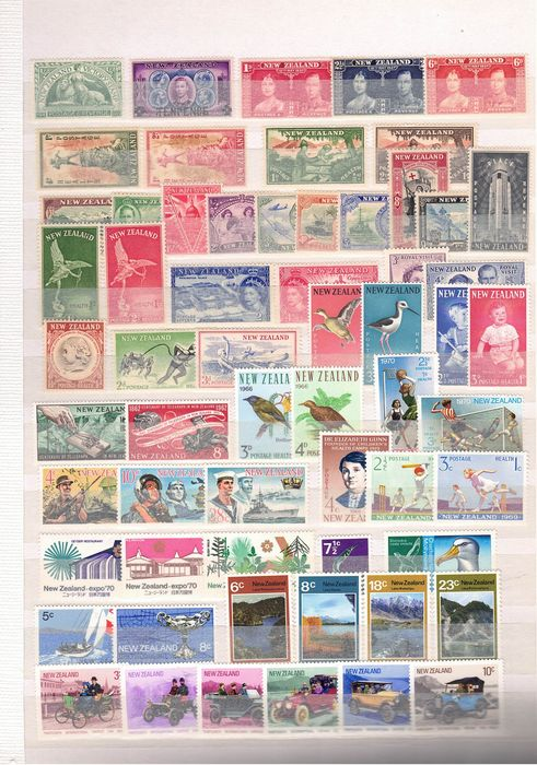 Neuseeland - collection with a high value - Michel
