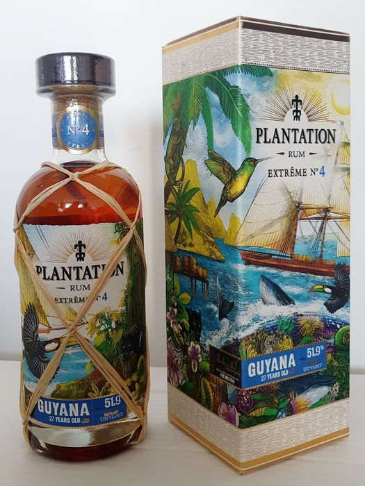 Uitvlugt 1993 27 years old Plantation - Extreme No. 4 - b. 2020 - 70 cl