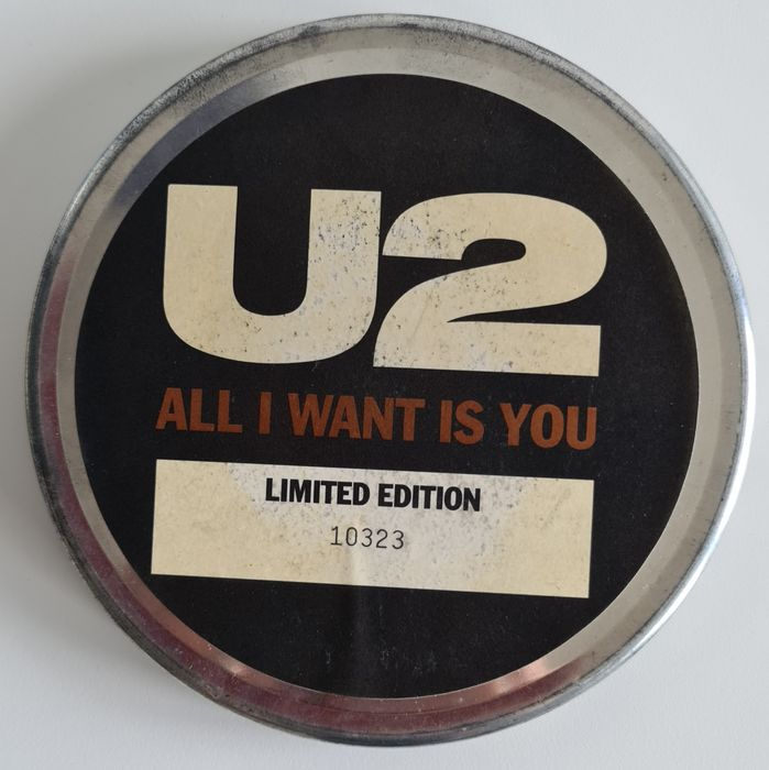 U2 - All I Want Is You - 45 rpm Single, Box set, Limited edition - 1989/1989