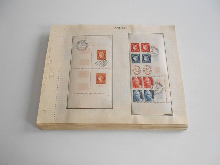 Frankrijk 1949/1982 - A very consistent collection on gridded pages - Yvert