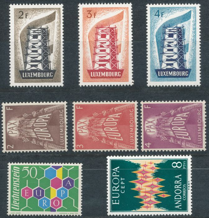 Europa 1956/1979 - CEPT, without the blocks, complete otherwise