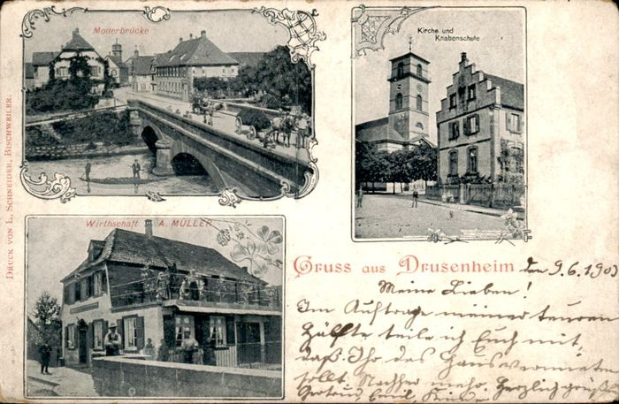Germany - City & Landscape, Europe - Postcards (Collection of 135) - 1900-1950