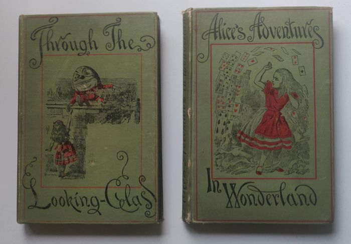 Lewis Carroll - Alice Adventures in Wonderland & Through the Looking Glass - 1887/1908