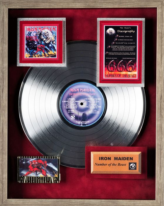 Iron Maiden - The Number of The Beast - Award - 1982/1986