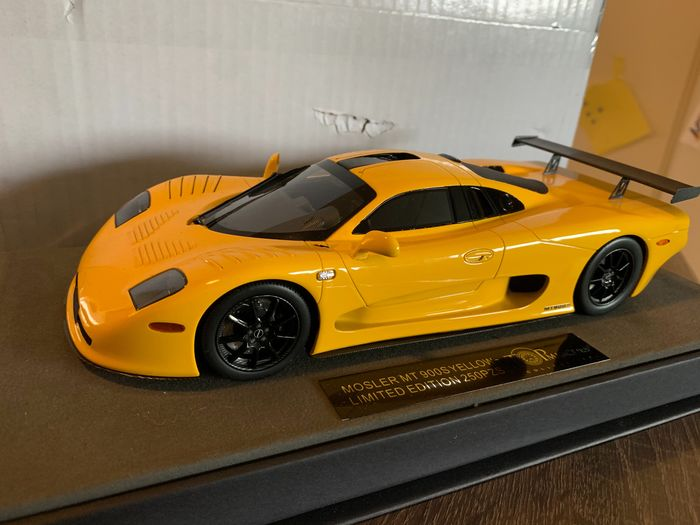 Top Marques - 1:18 - Mosler MT 900 S Yellow Top Marques