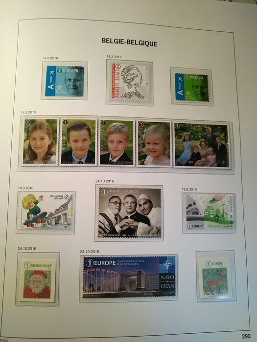 Lot 48935985 - Belgian Stamps  -  Catawiki B.V. Weekly auction - Note the closing date of each lot