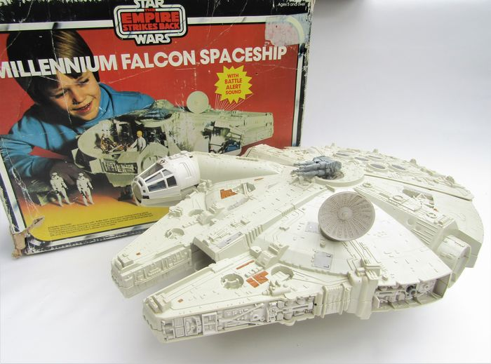 Star Wars Episode V: The Empire Strikes Back - Vintage - 1979 - Millennium Falcon Spaceship with original box - See images and description