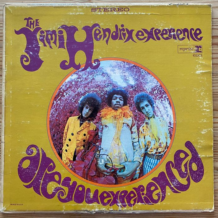 Jimi Hendrix Experience - Are You Experienced [Early U.S. Stereo Pressing] - LP Album - 1968/1968