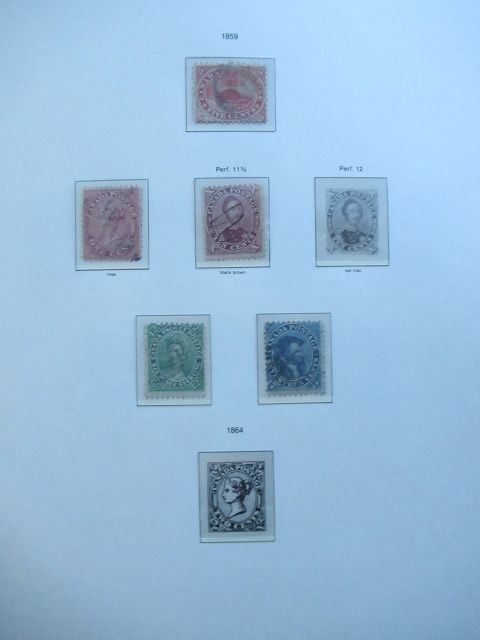 Kanada - Advanced collection of stamps