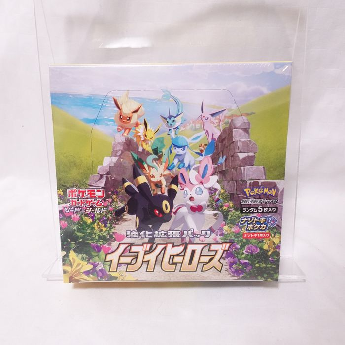 The Pokémon Company - Booster Box Trading cards Pokemon Card Game Sword & Shield Enhanced Expansion Pack, Eevee Heroes Box One BOX