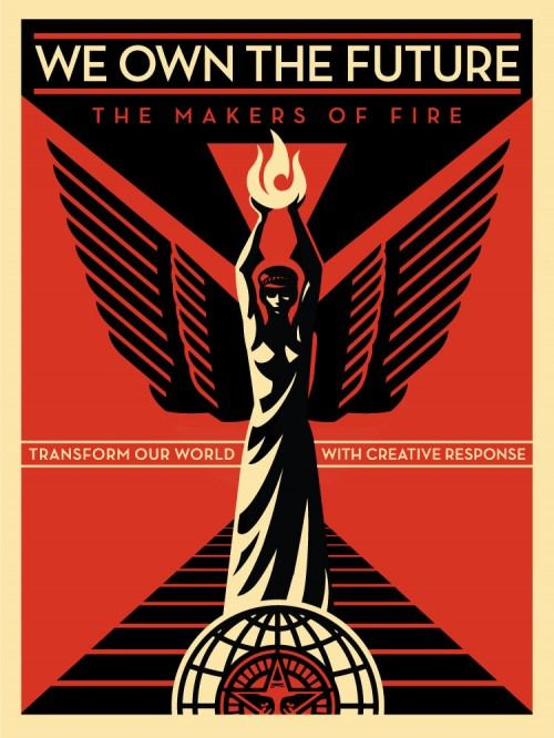 Shepard Fairey (OBEY) - We Own The Future
