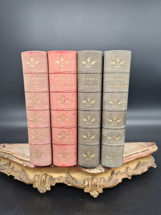 Various - The Albion edition The Poetical Works of Lord Byron, Dante, Shelley, Longfellow - 1890