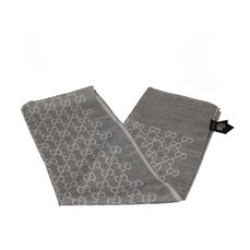 Gucci - GG Wool Scarf - Accessoire