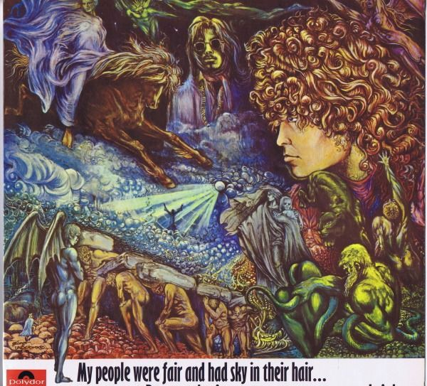 Tyrannosaurus Rex - My People Were Fair And Had Sky In Their Hair... But Now They're Content To Wear Stars On Their Brow - LP Album - 1968