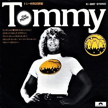 Who - Tommy The Movie [Japanese Promo EP] - 7-Zoll- Schallplatte - 1975