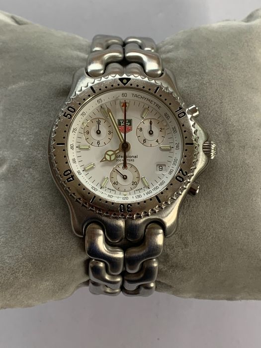 """TAG Heuer - Professional 200m Chronograph - """"NO RESERVE PRICE"""" - CG1112-1 - Heren - 1980-1989"""