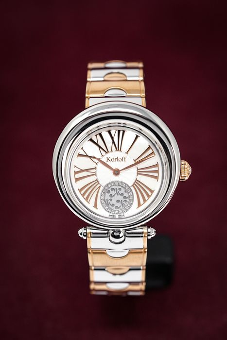 Korloff - Diamonds watch Limited Edition Luna Collection Mother of Pearl Dial - LRW1BIC - Dames - 2011-heden