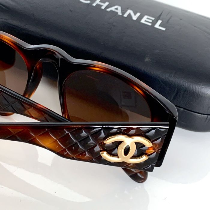 Chanel - SS 1990 - Quilted - Occhiali da sole