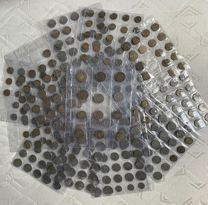 Arabic countries. Different denominations, Lot various coins 20th and 21th century (354 pieces)