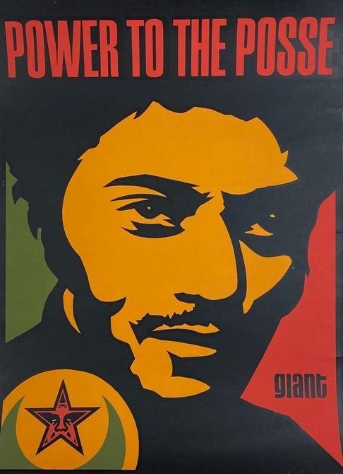Shepard Fairey (OBEY) - Nubian : Power to the Posse