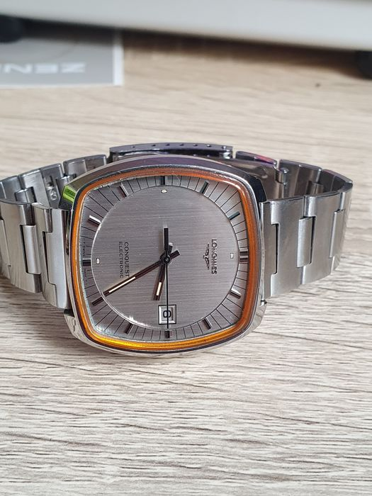 Longines - Conquest electronic accutron Nos - 1520-1A - Herren - 1970-1979