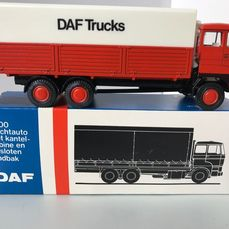 Lion Toys - 1:50 - Daf 2800 3 assige Truck 1e type