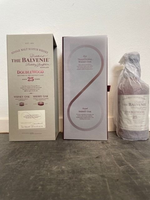 Balvenie 25 years old 25th Anniversary of The Balvenie Double Wood - Original bottling - 70cl